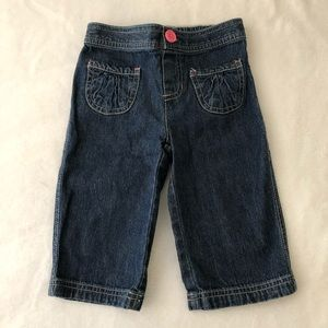 🍂3/$22🍂 Jumping beans denim capris 4T girls